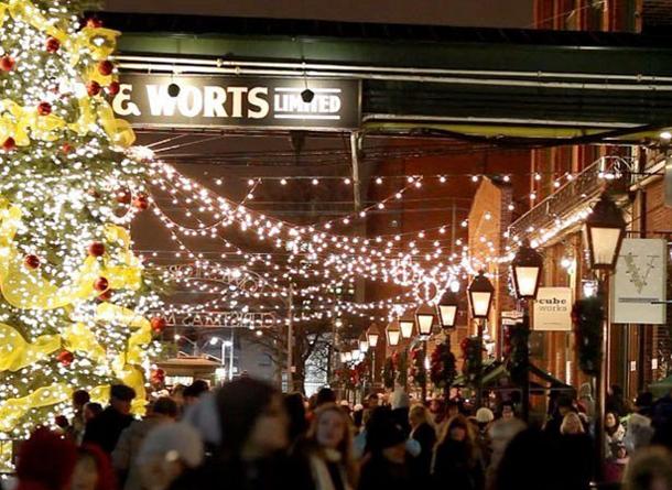 December events in Toronto